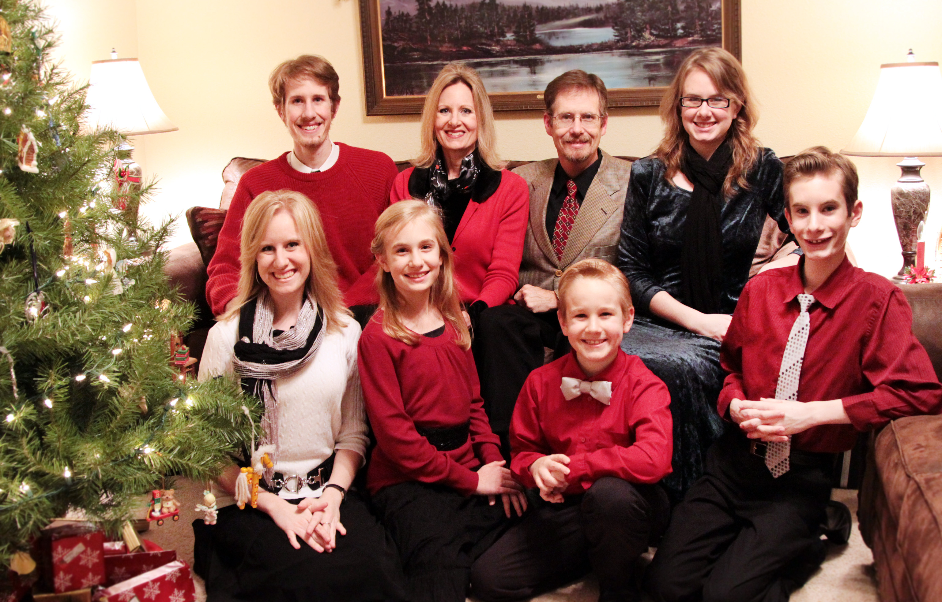 The Garms Family - Christmas Eve 2012